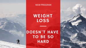 New program weight loss doesn't