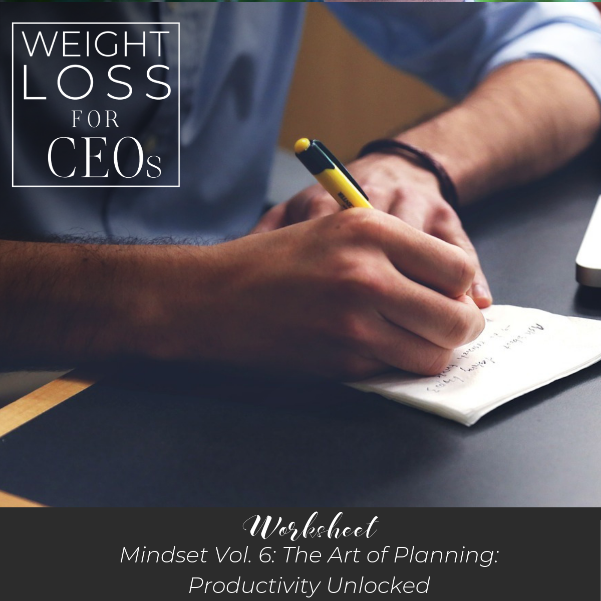 Ep #16: Mindset Vol. 6: The Art of Planning: Productivity Unlocked