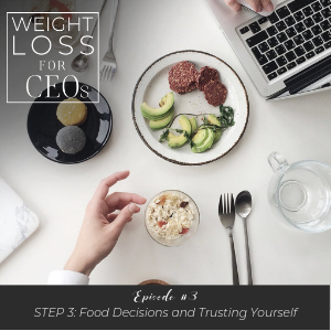 WLFCEO #3: Step 3: Food Decisions and Trusting Yourself