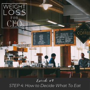 WLFCEO #4: Step 4: How to Decide What to Eat